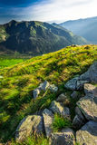 Wonderful sunset in the Tatra Mountains in summer Stock Photos