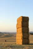 Wonderful sunset in the Tuscan countryside Royalty Free Stock Photo