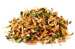 Wonderful Thai herbal tea with Pandan and Lemongrass. Studio Photo Royalty Free Stock Image