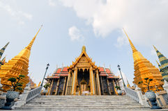 Wonderful Thailand Temple. Wonderful Wat Phra Khew in Bangkok Thailand Stock Photography