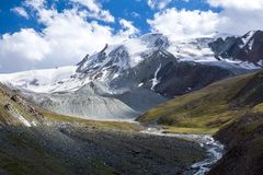 Wonderful Tien Shan mountains Stock Images