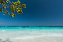Wonderful turquois sea. At Ta Chai Island,Thailand royalty free stock image