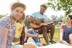 This is a wonderful vacation Stock Photography