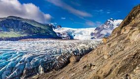 Wonderful Vatnajokull glacier and mountains, Iceland Stock Photography