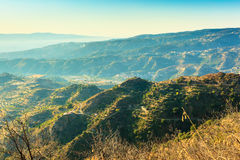 Wonderful view from Aspromonte Royalty Free Stock Image