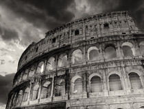 Wonderful view of Colosseum in all its magnificence  Stock Photos