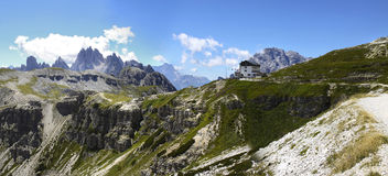 Wonderful view of the Dolomites Stock Photography