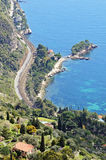 Wonderful view of French Riviera stock photography