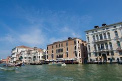 Beautiful view of Venice and the Grand Canal. Stock Image