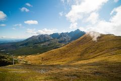 Wonderful view of the mountains Royalty Free Stock Images