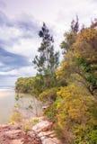 Wonderful view of Royal National Park, Australia Stock Photos