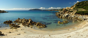 Wonderful view of sardinian south-west coast Royalty Free Stock Images