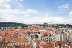 Wonderful View To The City Of Prague In Czech Republic Stock Image