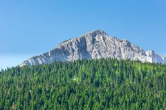 Wonderful view to mountains  in Montenegro Stock Photography
