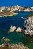 Wonderful view of Tremiti islands in the Gargano national park Royalty Free Stock Photo
