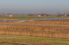 The wonderful village of Zaanse Schans, Netherland royalty free stock image