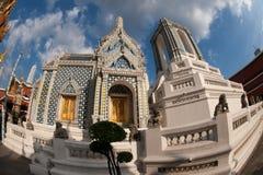 Wonderful Wat Phra Kaew in Bangkok,Thailand . Royalty Free Stock Photo