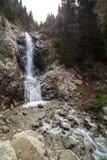 Wonderful waterfall Barskoon in Kirgizstan Royalty Free Stock Images