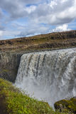 Wonderful waterfall Dettifoss in Iceland, summer time Stock Image