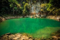 Wonderful waterfall in thailand, lom pu keaw waterfall lampang Royalty Free Stock Photography