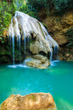 Wonderful waterfall in thailand Royalty Free Stock Images