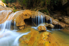 Wonderful waterfall in thailand Stock Photography