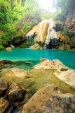 Wonderful waterfall in thailand Stock Photo
