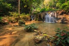 Wonderful waterfall in thailand, Pugang waterfall chiangrai Stock Photo