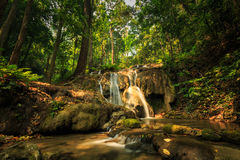 Wonderful waterfall in thailand, Pugang waterfall chiangrai Stock Photos