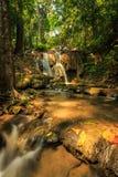 Wonderful waterfall in thailand, Pugang waterfall chiangrai Royalty Free Stock Photography