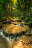 Wonderful waterfall in thailand, Pugang waterfall chiangrai Royalty Free Stock Photo