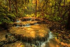 Wonderful waterfall in thailand, Pugang waterfall chiangrai. Photo wonderful waterfall in thailand, Pugang waterfall chiangrai stock image