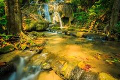 Wonderful waterfall in thailand, Pugang waterfall chiangrai. Photo wonderful waterfall in thailand, Pugang waterfall chiangrai royalty free stock image