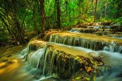 Wonderful waterfall in thailand, Pugang waterfall chiangrai. Photo wonderful waterfall in thailand, Pugang waterfall chiangrai stock photography
