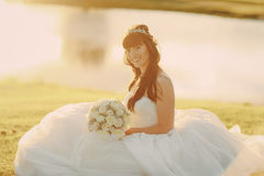 Wonderful wedding day Royalty Free Stock Photography