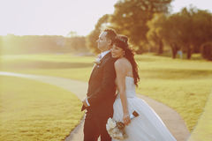 Wonderful wedding day Stock Image