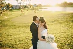 Wonderful wedding day royalty free stock photos