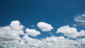 Wonderful white clouds Stock Image