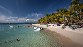 Mauritius Tropical Beach stock photo