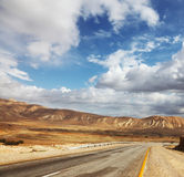 Wonderful winter day in the desert. Royalty Free Stock Images