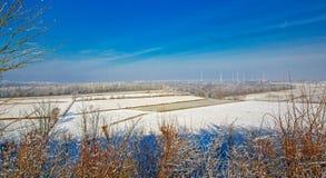 A wonderful winter landscape. Germany. Royalty Free Stock Photos
