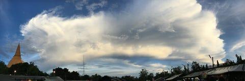 wonderfull σύννεφο Στοκ Φωτογραφίες