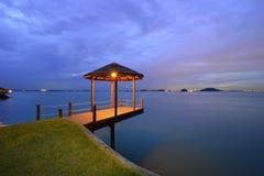 Wonderfull Batam ö Indonesien Arkivfoto