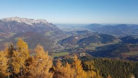 Wonderfull di vista di Berchdesgaden fotografia stock libera da diritti