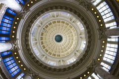 Wonderfull dome in the boise capital building Royalty Free Stock Image