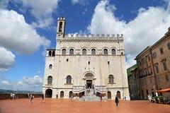 Wonderfull konsulów pałac w Gubbio Umbria Zdjęcie Royalty Free
