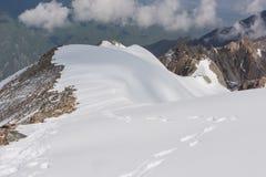 Wonderfull mountain ladscape. Snow, highland, peak Royalty Free Stock Photography