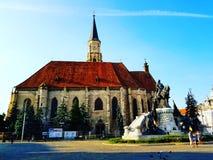 Wonderfullcluj kathedraal royalty-vrije stock afbeeldingen