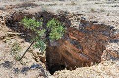 Wondergat Sinkhole - Namibia Royalty Free Stock Photography