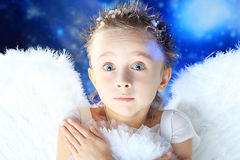 Wondering angel Stock Photos